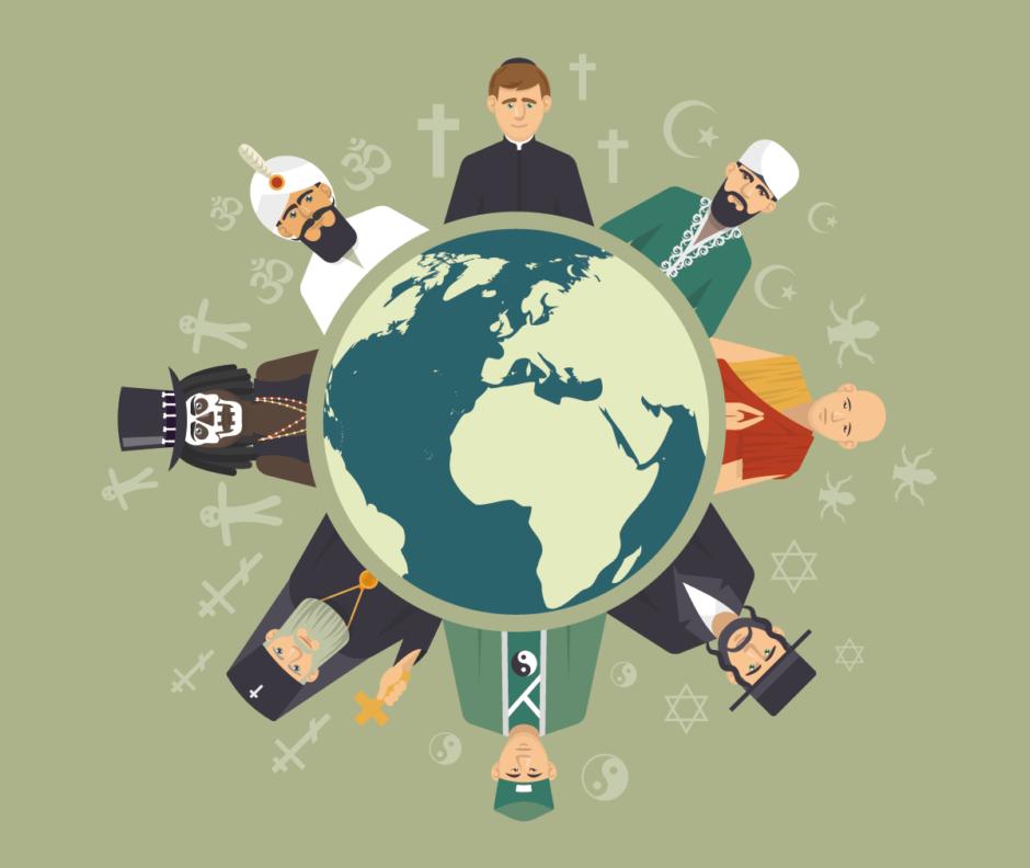 【ざっくり解説】世界の3大宗教・5大宗教とは?