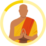 仏教徒のアイコン