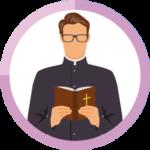 カトリック教徒のアイコン
