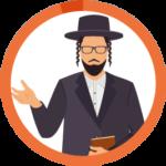 ユダヤ教徒のアイコン