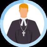 プロテスタント教徒のアイコン