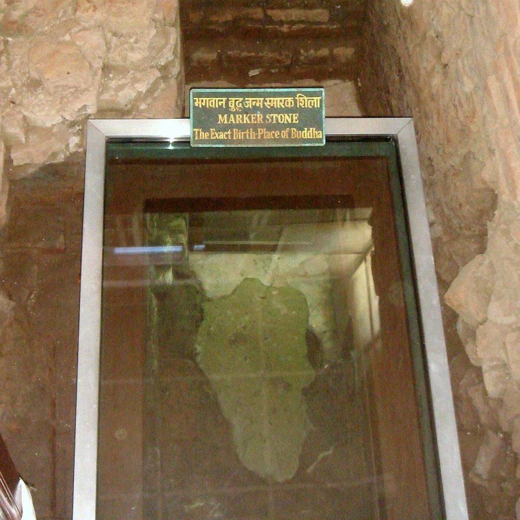 仏教4大聖地ルンビニーの石柱