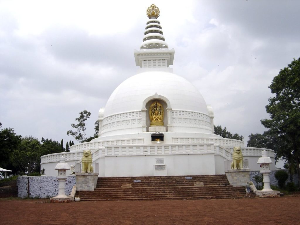 仏教8大聖地ラージャグリハ
