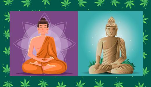 ブッダは大麻を吸って悟りを開いたって本当?仏教の豆知識